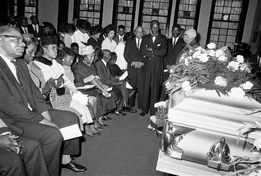 Funeral service of Jimmie Lee Jackson (AP Photo)