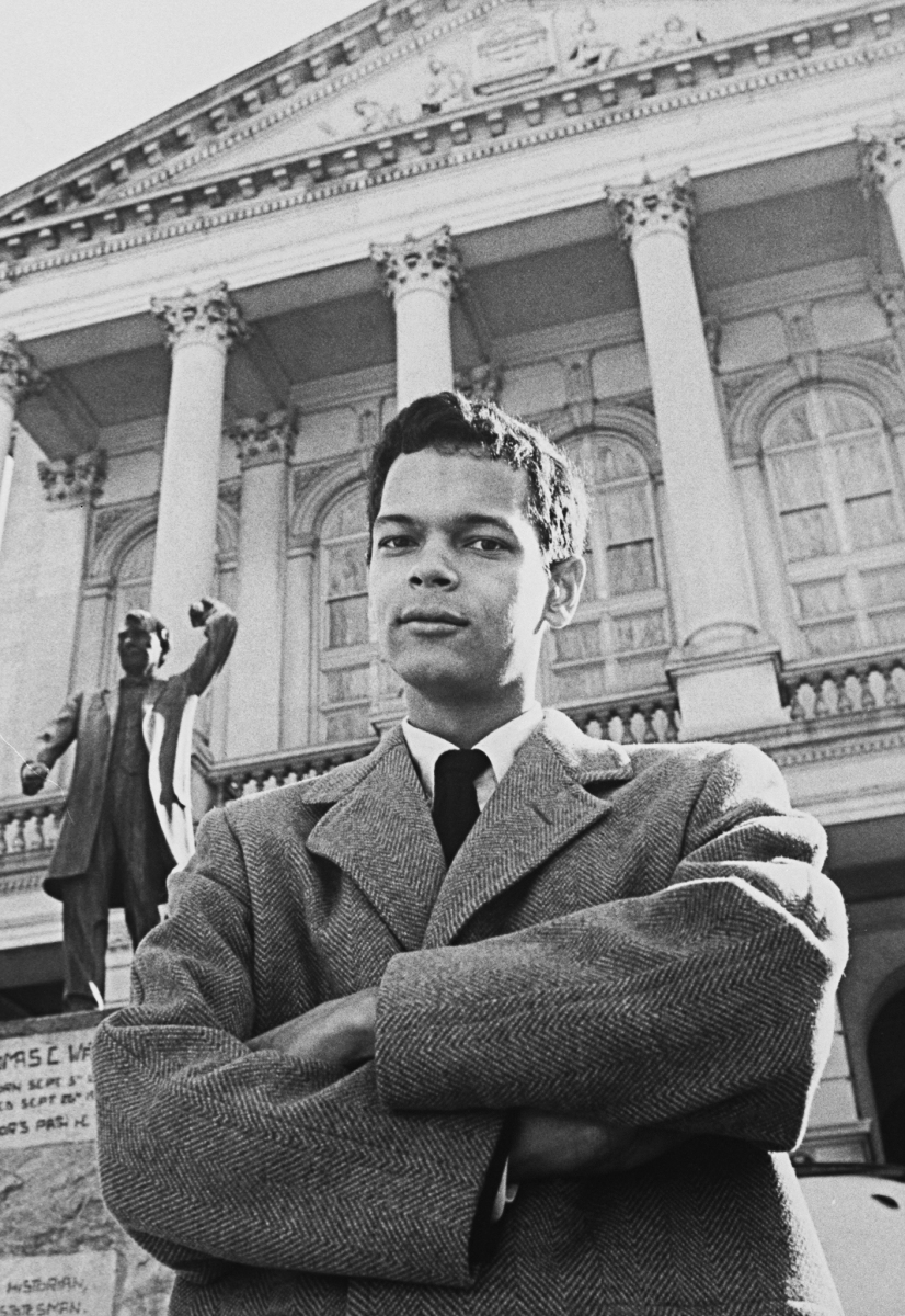 Director of the S.N.C.C. Julian Bond.  (Photo by Francis Miller/The LIFE Picture Collection/Getty Images)
