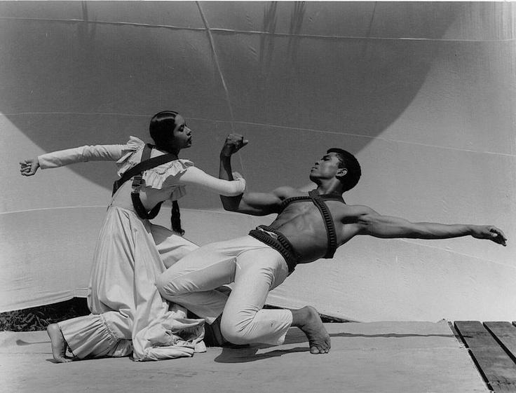 Carmen de Lavallade and Alvin Ailey