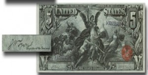 US currency Lyons