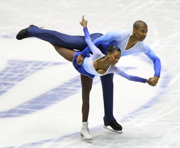 Yannick Bonheur and Vanessa James