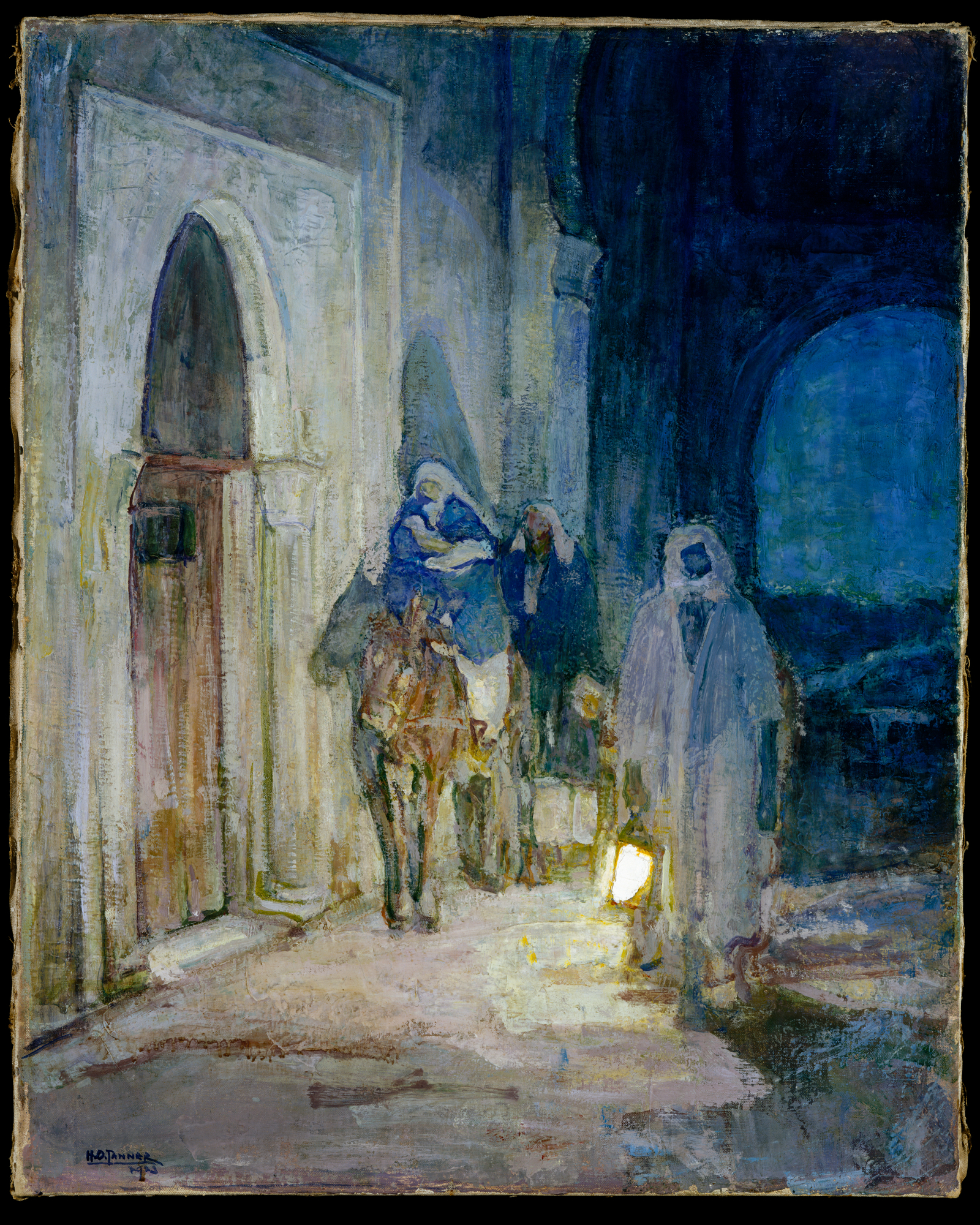 Flight into Egypt, 1923 by Henry Ossawa Tanner