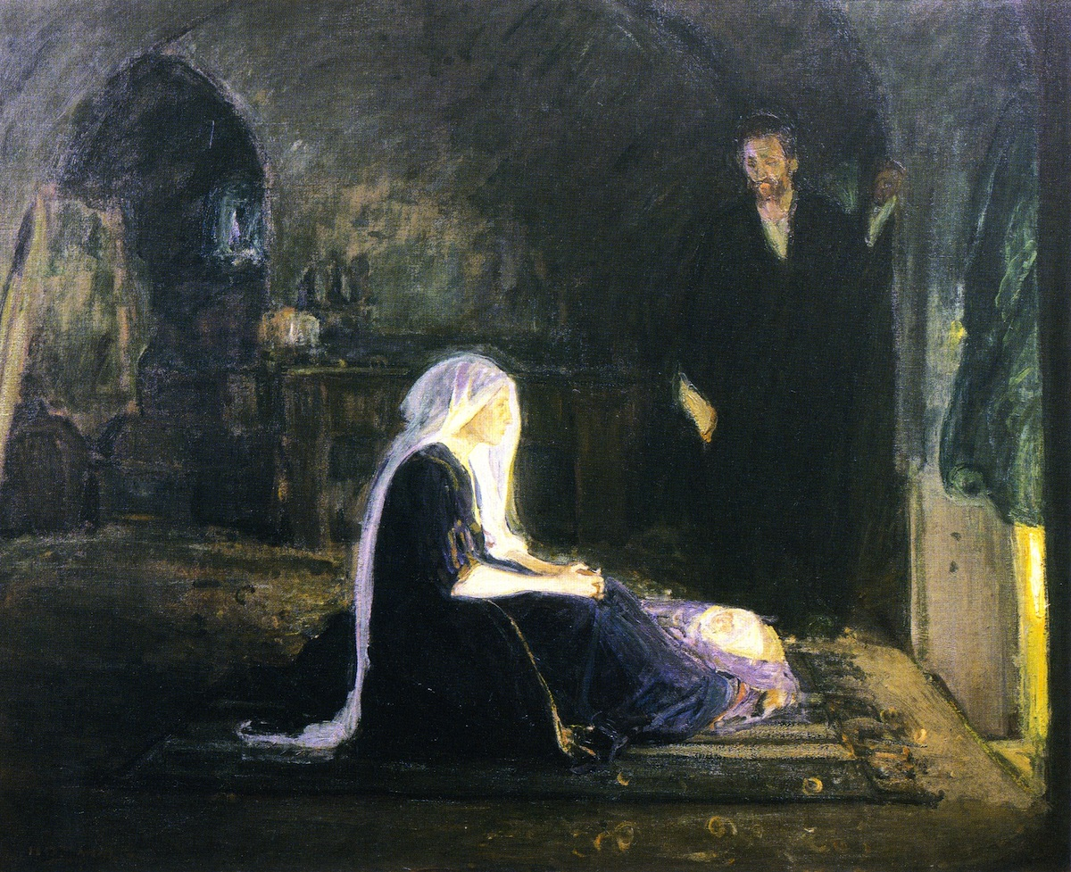 The Holy Family by Henry Ossawa Tanner