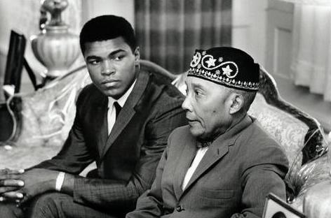 with the Hon. Elijah Muhammad