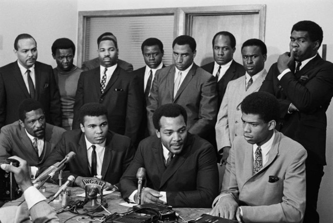 athletes in support of Ali