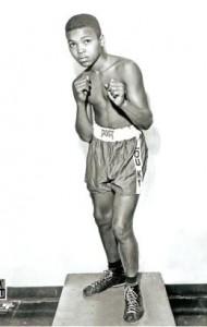 Muhammad Ali as a boy