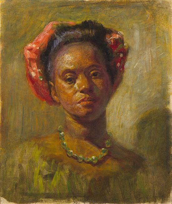 Woman from the French West Indies, 1891 by Henry Ossawa Tanner