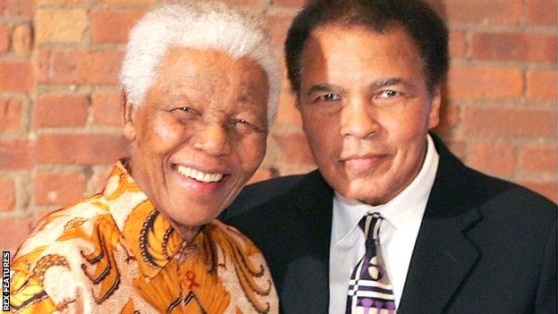with Nelson |Mandela