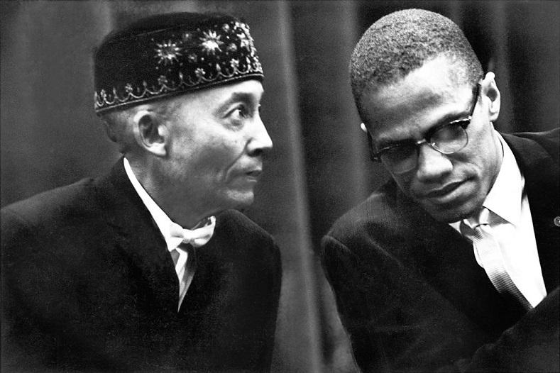 Elijah Muhammad and Malcolm X