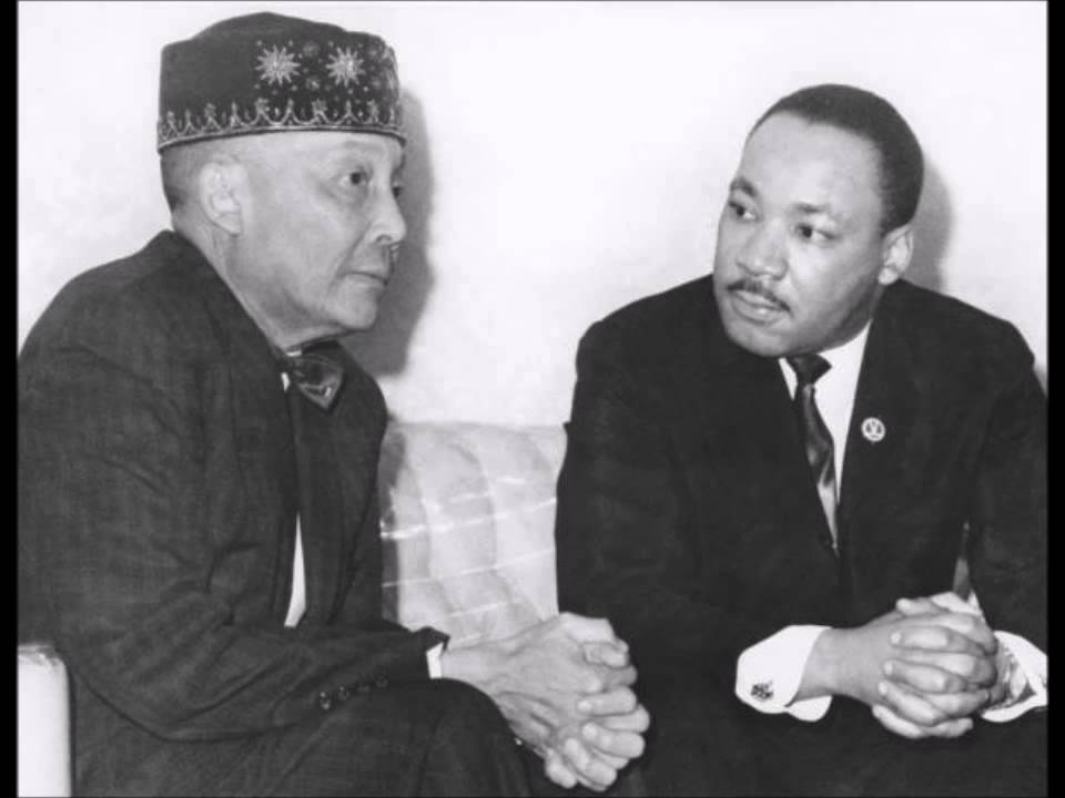 Elijah Muhammad and Martin Luther King Jr