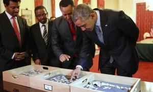 President Obama meets Dinknesh