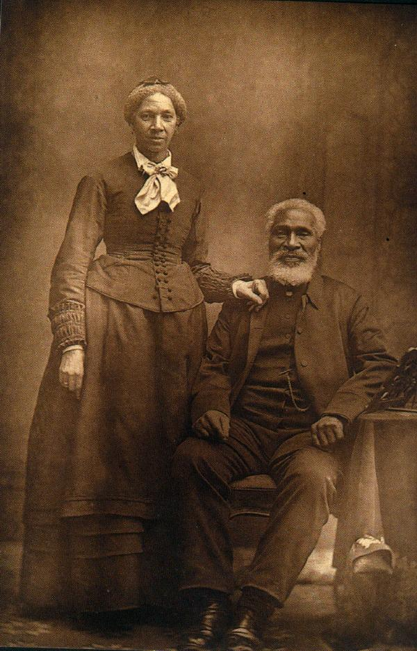 Josiah Henson (1789-1883) and his second wife Nancy, Ontario, Canada