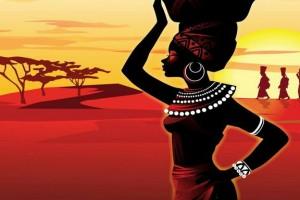 African Woman Ancient of Days by Kefa Ab Menaughk Maat