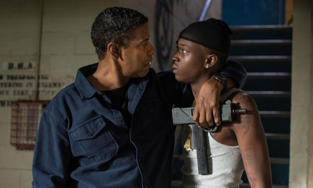 Denzel Washington and Ashton Sanders in The Equalizer 2