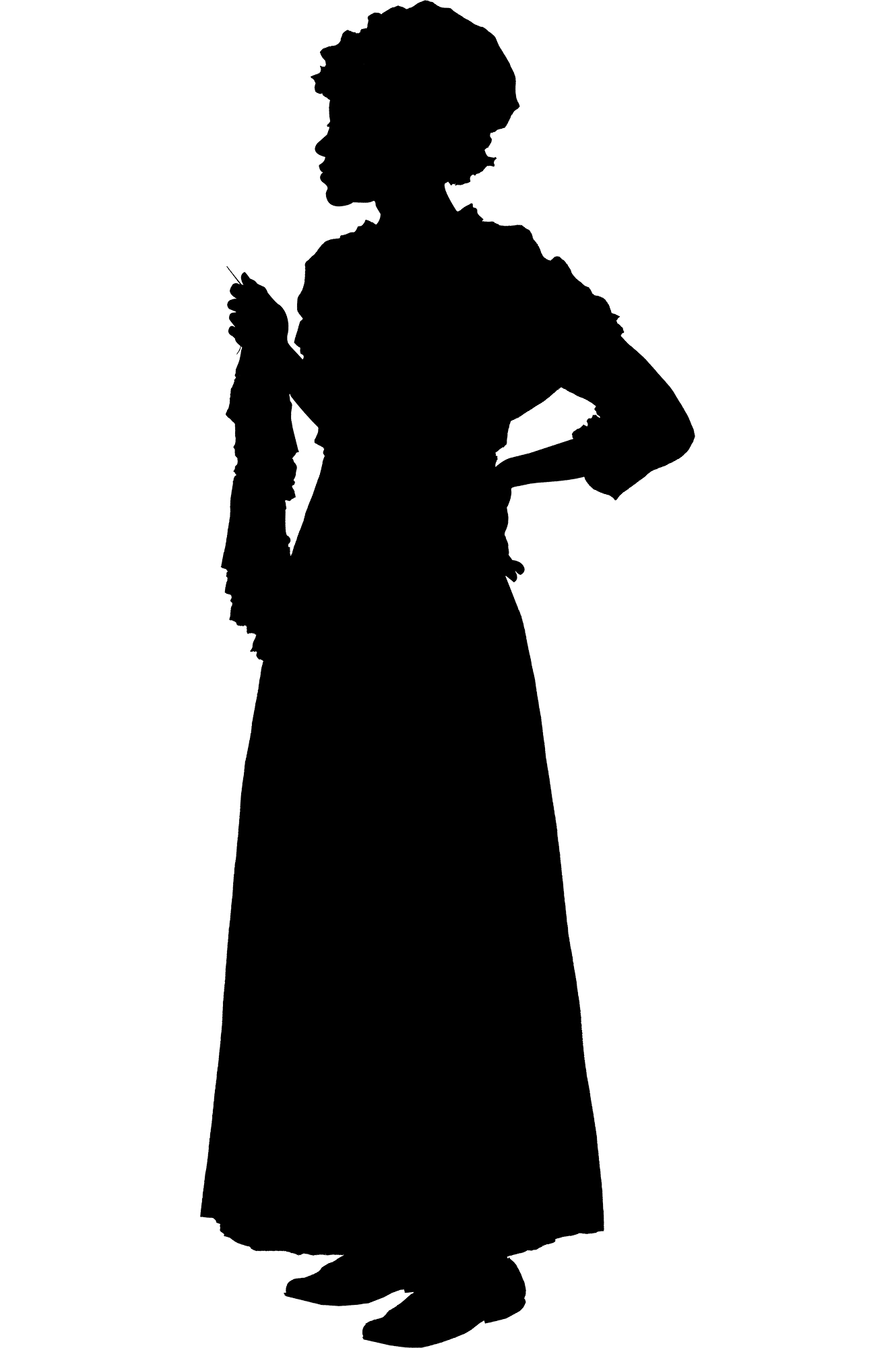 Silhouette of Ona Judge