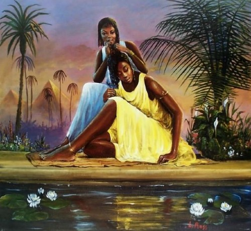 Nubian Maidens by Laverne Ross